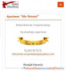 Vila Petrović - Vrnjačka Banja